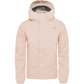 The North Face Resolve Reflective Veste Fille, pink salt
